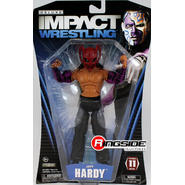 TNA Jeff Hardy - TNA Deluxe Impact 11 Toy Wrestling Action Figure at Kmart.com