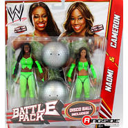 WWE Cameron & Naomi (The Funkadactyls) - WWE Battle Packs 24 Toy Wrestling Action Figures at Kmart.com
