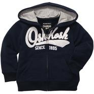 OshKosh Toddler Boy's Fleece Hoodie Jacket at Sears.com