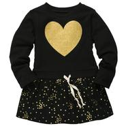 Carter's Girl's Long-Sleeve Tunic - Glitter Heart at Sears.com