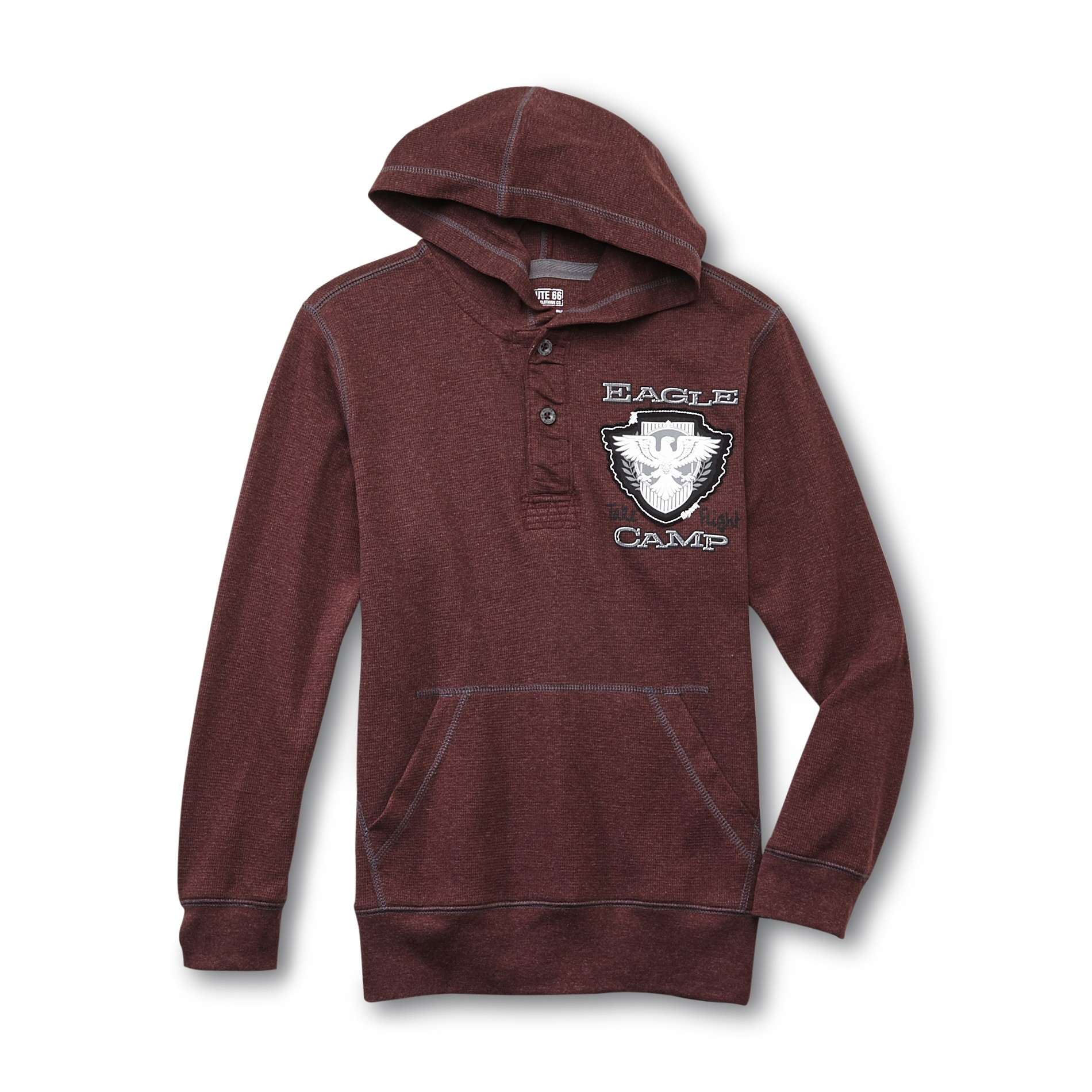 Boy's Thermal Hoodie - Eagle Camp