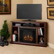Real Flame Churchill Electric Fireplace in Dark Espresso 33Hx51Wx31D at Sears.com