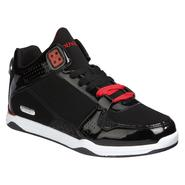 Athletech Men's Athletic Shoe Plunge - Black/Red at Kmart.com