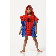 Boy's Hooded Towel Poncho - Spider-Man at Sears.com