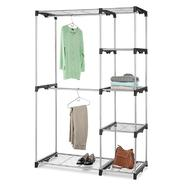 Essential Home Silver Metal Closet Double-Rod at Kmart.com