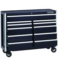 Craftsman EDGE Series 52-In. 11-Drawer Premium Heavy-Duty Ball-Bearing Rolling Cart - Black at Craftsman.com