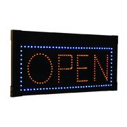 Creative Motion Hanging Rectangular LED Open Sign at Kmart.com