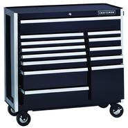Craftsman EDGE Series 40 In. 13-Drawer Premium Heavy-Duty Ball-Bearing Rolling Cart - Black at Craftsman.com