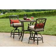 Agio Tuscany 3 Piece Bistro Set Featuring Sunbrella&reg Fabric at Kmart.com