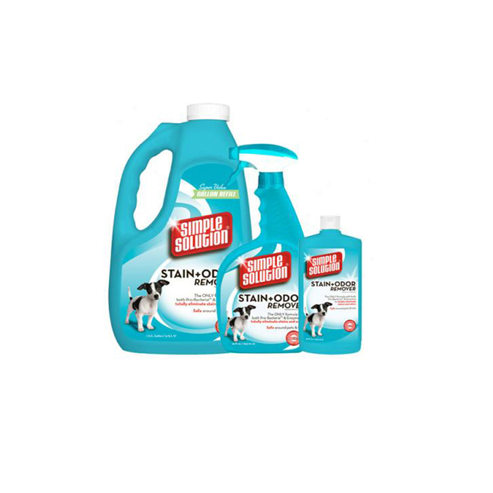 SIMPLE SOLUTION 11051-6P SIMPLE SOLUTION STAIN AND ODOR REMOVER 1 GALLON 5.42 X 7.09 X 11.88 PartNumber: 029V002047045000P