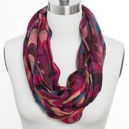Studio 36 Women's Wave Multicolor Infinity Knit Scarf at Sears.com