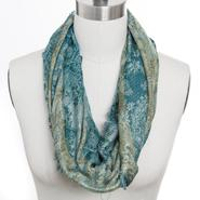 Studio 36 Women's Infinity Loop Multicolor Jacquard Scarf at Sears.com