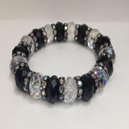 Studio S Women's Beaded & Rhinestone Bracelet at Sears.com