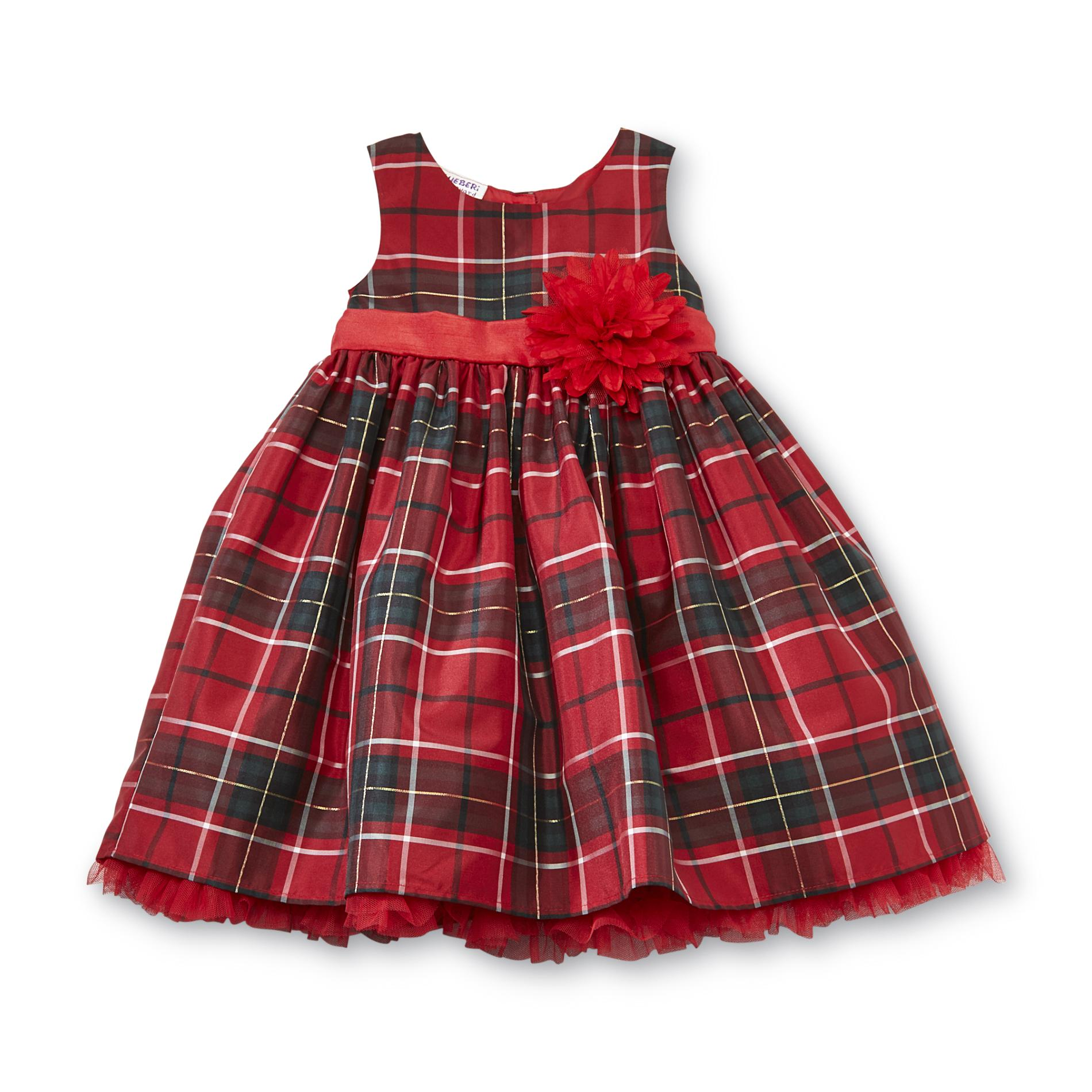 Infant & Toddler Girl's Dress - Plaid