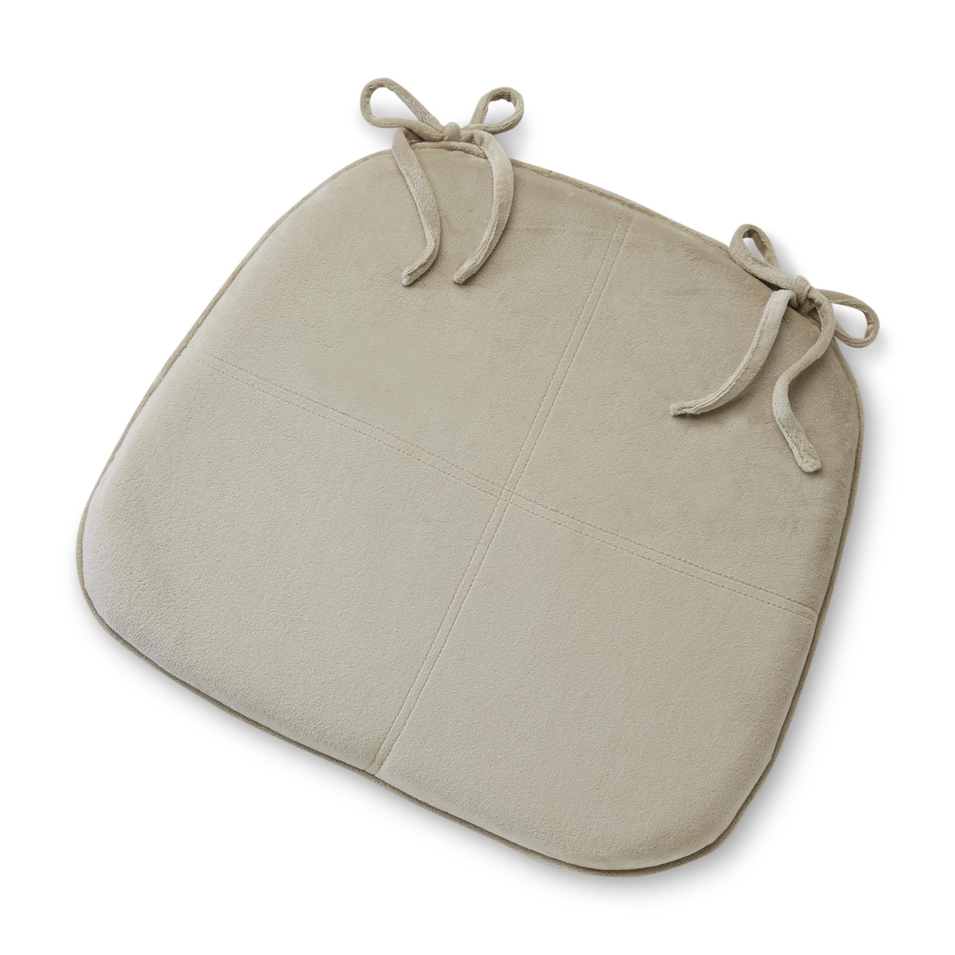 Essential Home Essential Home Memory Foam Chair Cushion   Tan