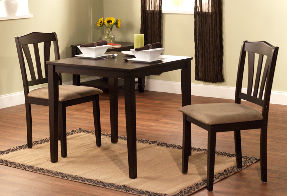 Metropolitan Dining Set In Espresso Finish
