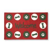Essential Home Winter Accent Rug - Bones & Paws at Kmart.com