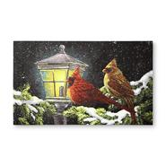 Essential Home Cardinals & Lamplight Holiday Doormat at Kmart.com