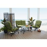 Agio Anna 4pc Oversize Motion Seating Set Featuring Sunbrella&reg Fabric at Sears.com