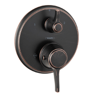 HG Metris C Thermostatic Trim w/Volume Control & Diverter at Sears.com