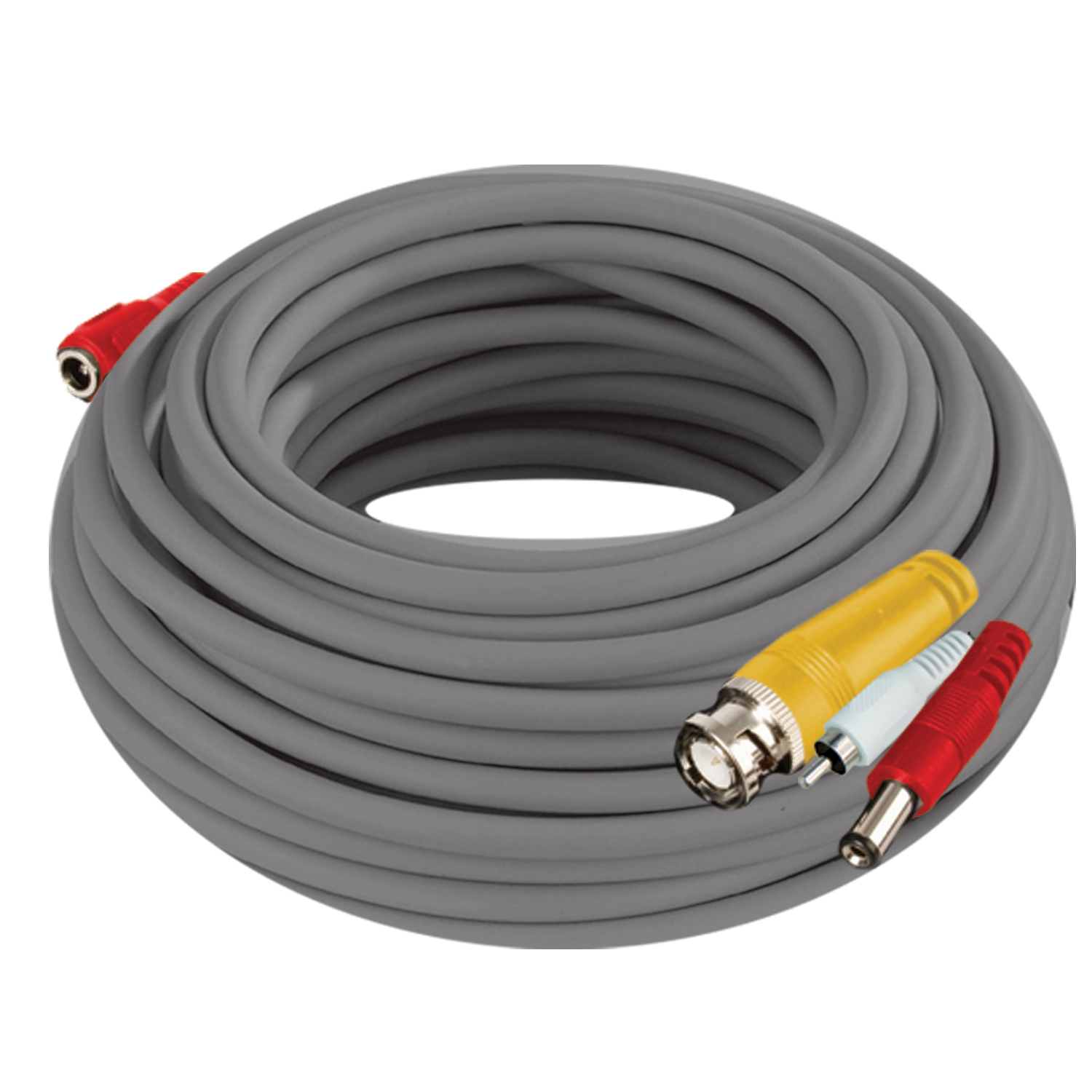 Night Owl Security Products 100' BNC Video/Power Camera Extension Cable with Adapter and Audio