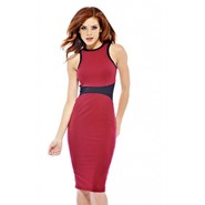 AX Paris Women's Contrast Trim Midi Dress at Kmart.com