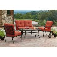 Agio Tuscany 4 Piece Seating Set Featuring Sunbrella&reg Fabric at Sears.com