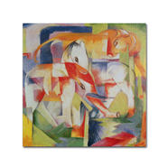 Trademark Fine Art Franz Marc 'Elephant, Horse and Cow' Canvas Art at Sears.com