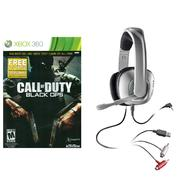 Activision Call of Duty Black Ops and X40 Plantronics Stereo Gaming Headset Bundle  Xbox 360 at Kmart.com