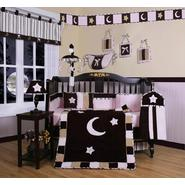 GEENNY Pink Brown Moon & Star 13PCS Crib Bedding Set at Kmart.com