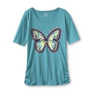 Canyon River Blues Girl's Graphic T-Shirt - Butterfly at Sears.com