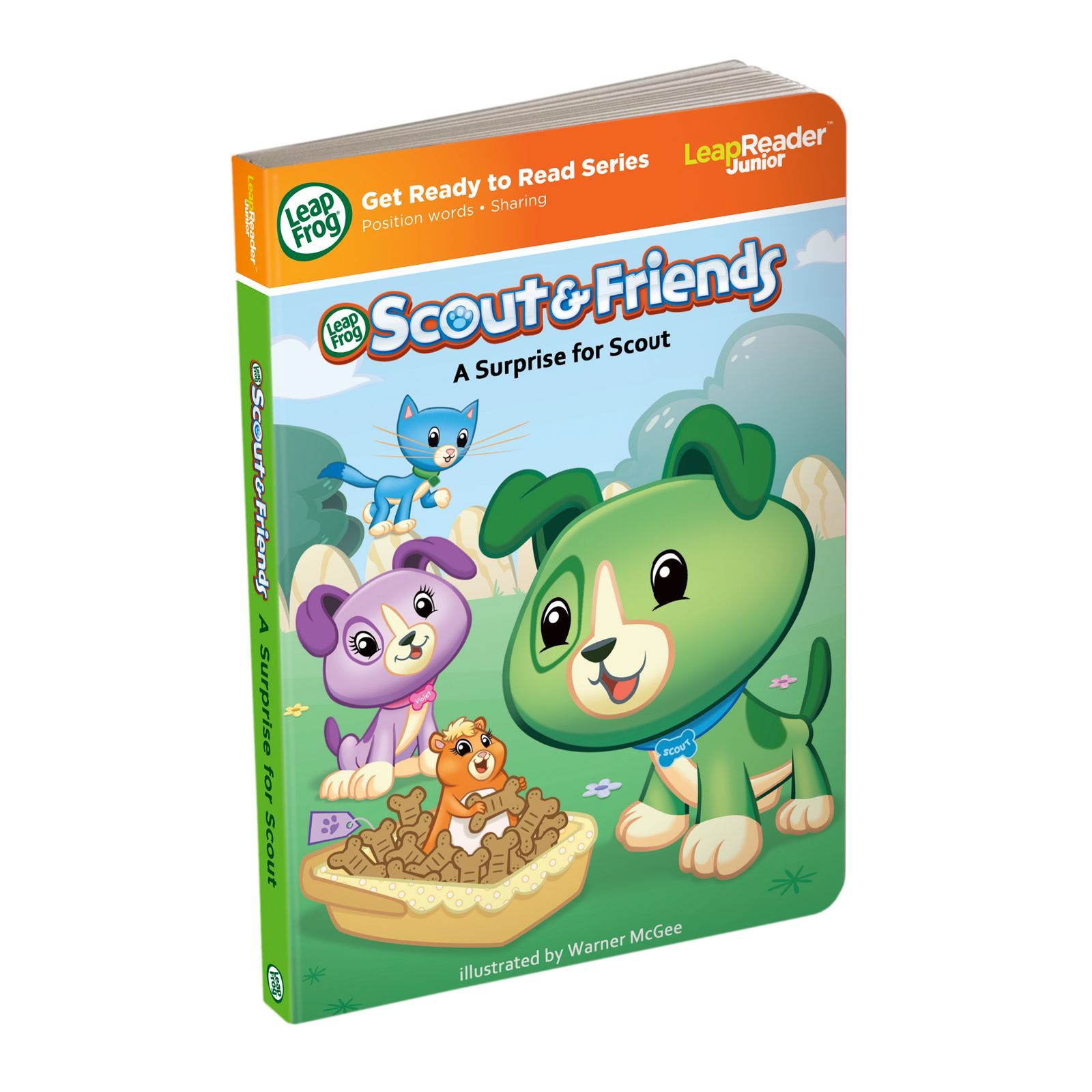 LeapReader Junior Book: Scout & Friends: A