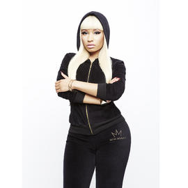 Nicki Minaj Women's Velour Hoodie Jacket - Logo at Sears.com