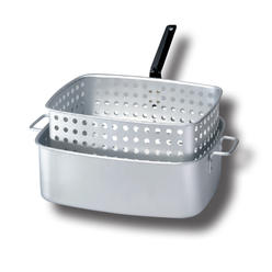 King Kooker® 15 Qt. Aluminum Rectangular Fry Pan with Two helper Handles and Punched Aluminum Basket with Heat Resistant Handle ... at Kmart.com