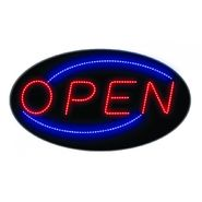 Creative Motion Hanging Oval LED Open Sign at Kmart.com