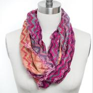 Studio 36 Women's Knit Infinity Scarf - Zigzag at Sears.com