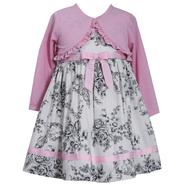 Ashley Ann Infant & Toddler Girl's Dress & Shrug - Floral at Sears.com