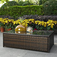 Crosley Outdoor Palm Harbor Outdoor Wicker Glass Top Table at Sears.com