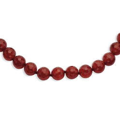 goldia 8-8.5mm Faceted Carnelian Necklace at Kmart.com