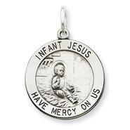 goldia Sterling Silver Antiqued Infant Jesus Medal at Kmart.com