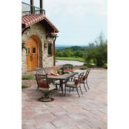 Agio Tuscany Outdoor 7 Piece Patio Dining Set Featuring Sunbrella&reg Fabric at Sears.com