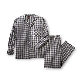 Hanes Men's Pajama Shirt & Pants - Plaid at Kmart.com