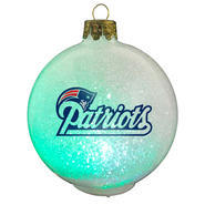 New England Patriots NFL LED Color Changing Christmas Ornament at Kmart.com