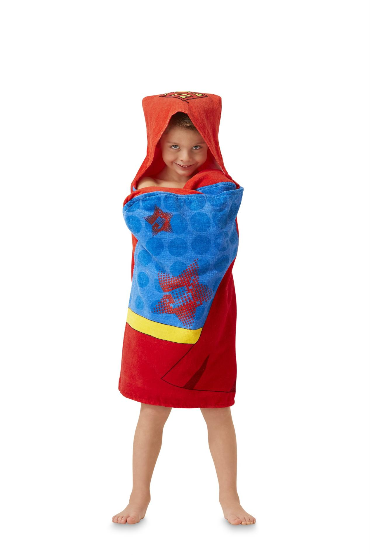 DC Comics Superman Boy's Hooded Towel