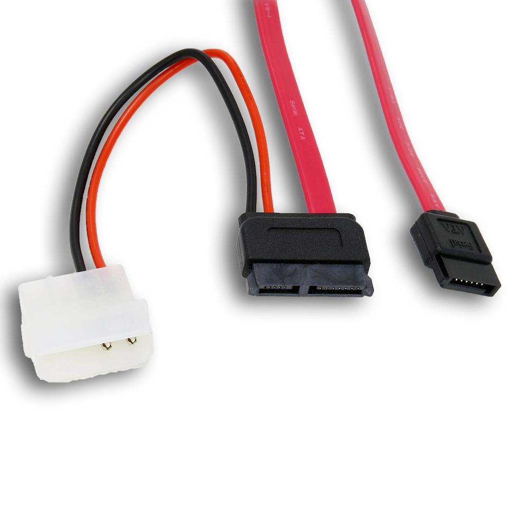 Link Depot LD-SATA-0.5C 6in SATA Cable with Power Adapter PartNumber: 020V006749107000P KsnValue: 020V006749107000 MfgPartNumber: LD-SATA-0.5C