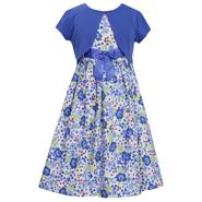 Ashley Ann Girl's Dress & Short-Sleeve Shrug - Floral at Sears.com