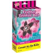 Creativity for Kids by Faber-Castell Feather Trinket Box Kit at Kmart.com
