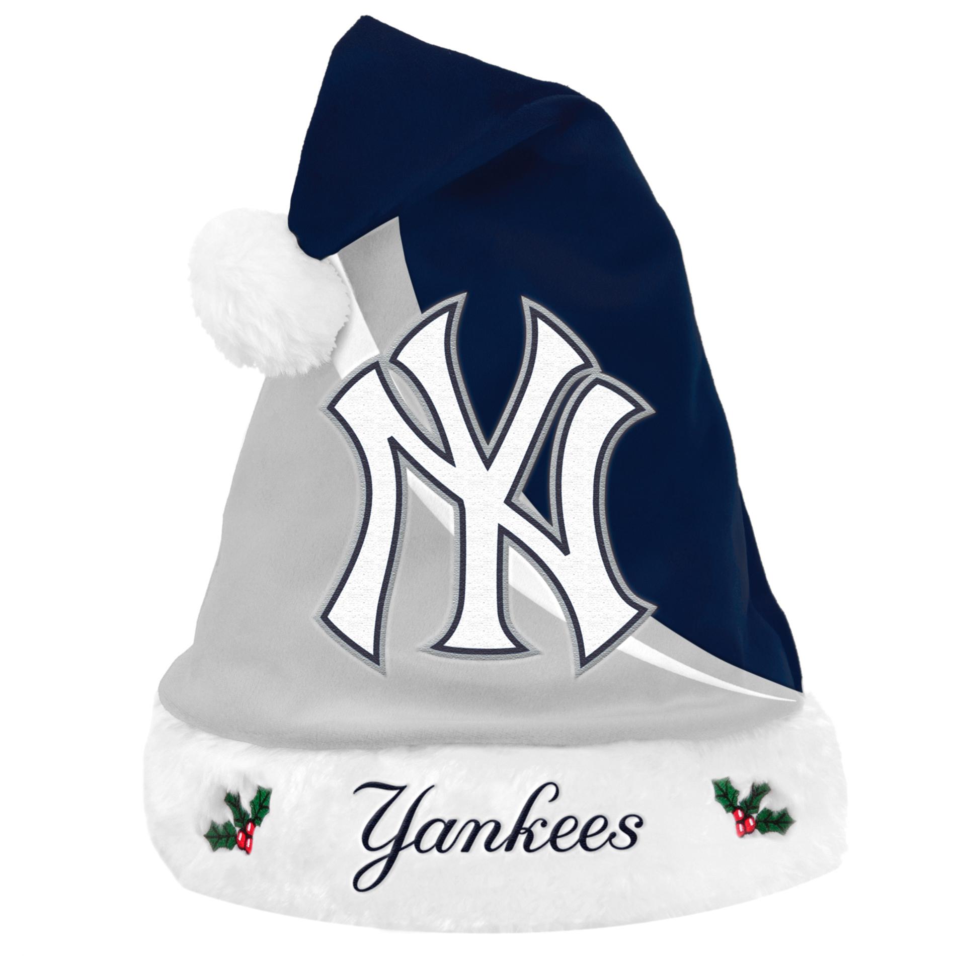New York Yankees 2013 MLB Swoop Plush Santa Hat PartNumber: 00662091000P