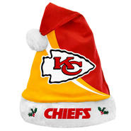 Kansas City Chiefs NFL Forever Collectibles Swoop Logo Santa Hat at Kmart.com