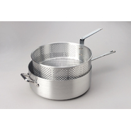 King Kooker® 12 Qt. Heavy Duty Aluminum Deep Fryer with Long Fry Pan Handle and Punched Aluminum Basket with Heat Resistant Handle at Kmart.com